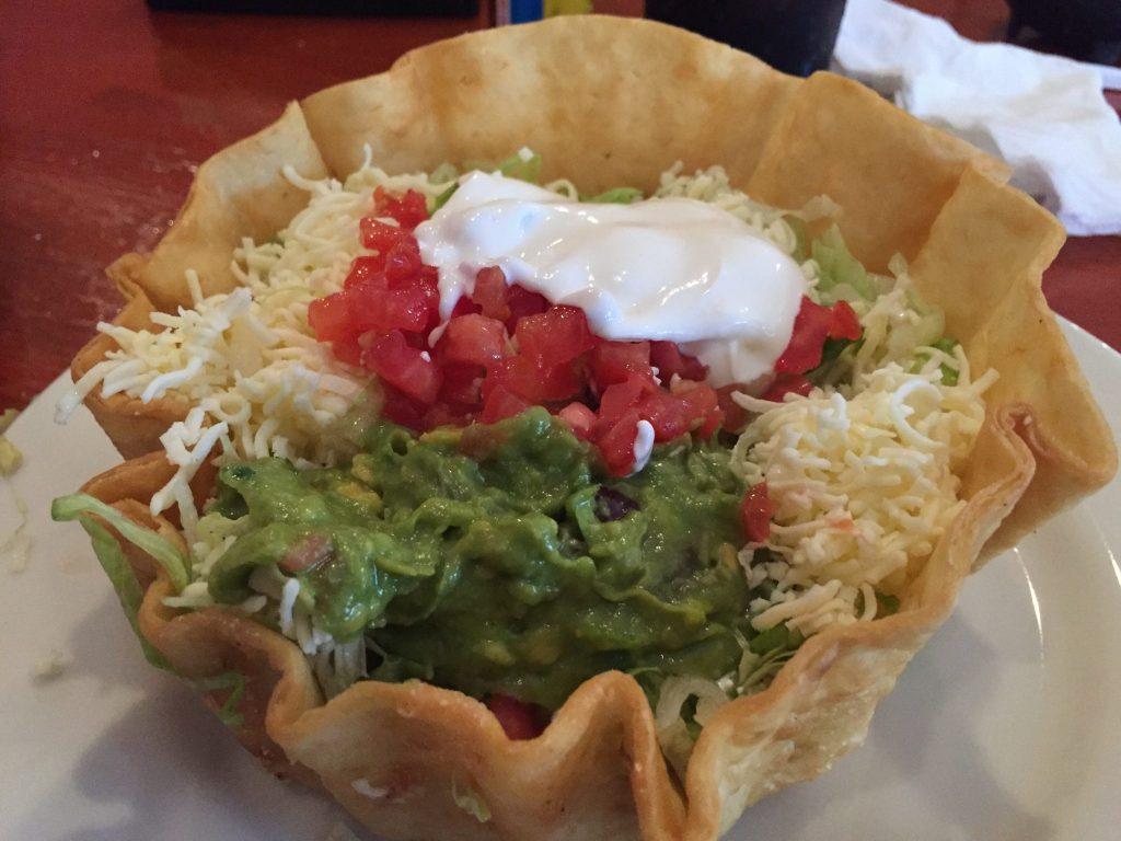 Los Rancheros Mexican Restaurant Taco Salad