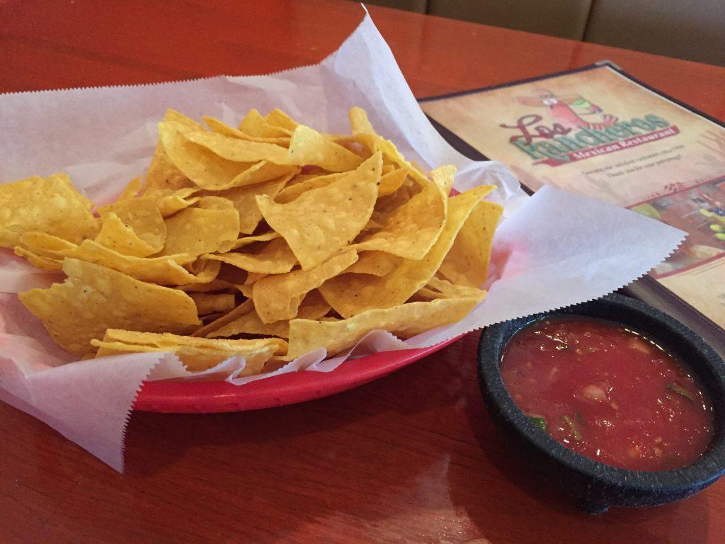 Los Rancheros Mexican Restaurant Chips & Salsa