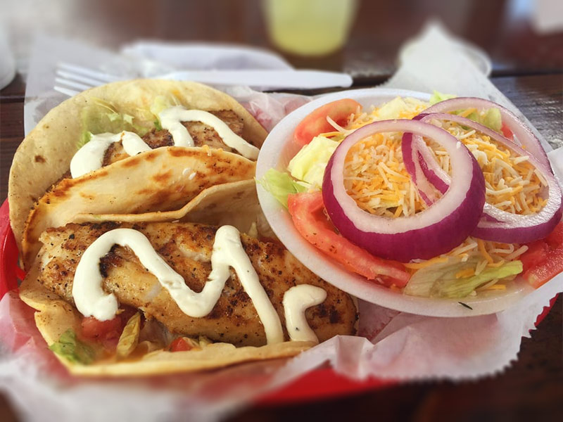 Off the Hook Fish Tacos